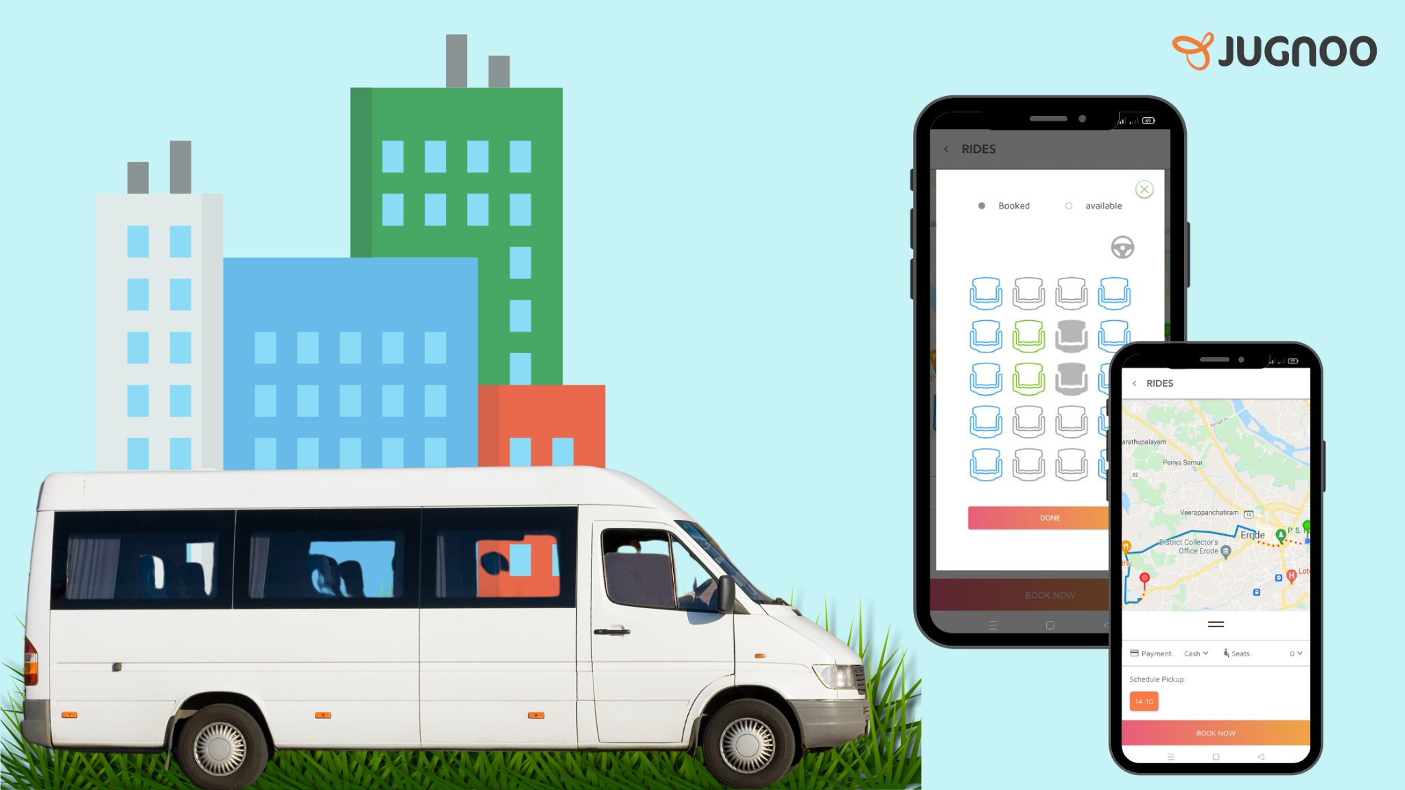 Why an Online Shuttle Booking System Essential for Shuttle Operators - Jugnoo