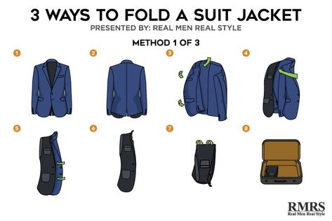 Cách gấp áo vest không bị nhăn