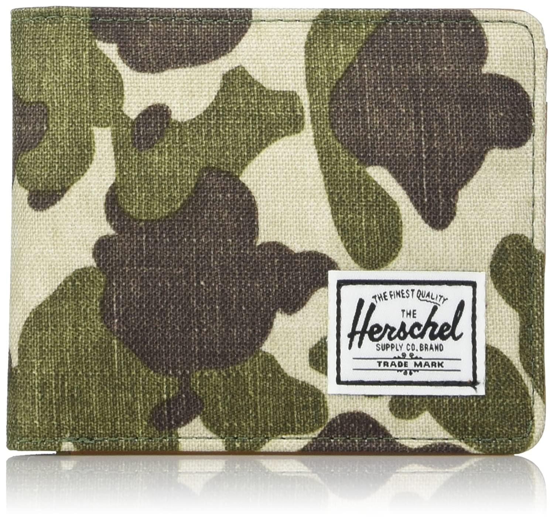 Herschel Men's Hank RFID Bifold Leather Wallet