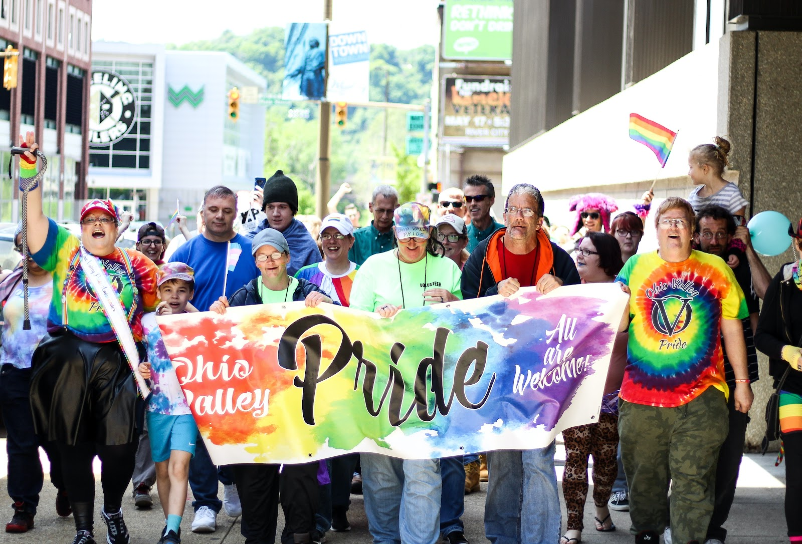 pride march by Rosemary Ketchum