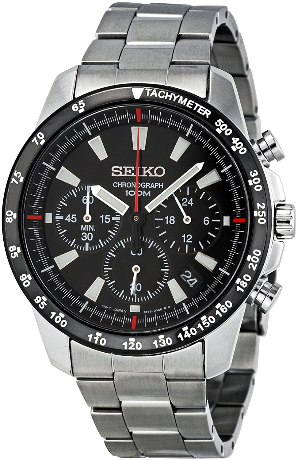 SSB031 Men's Chronograph Stainless Steel