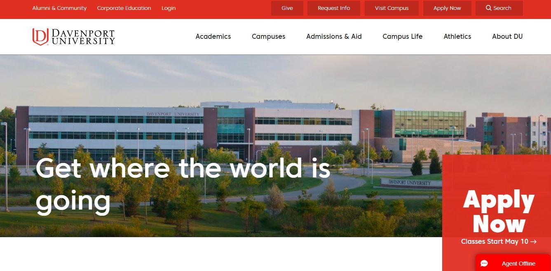 Davenport university online cybersecurity degree