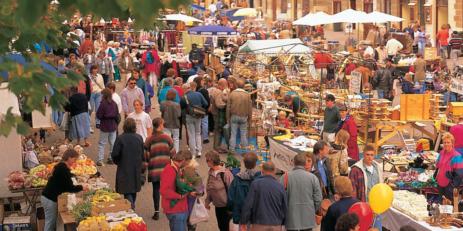 Salamanca Markets, Hobart Tasmania Tours