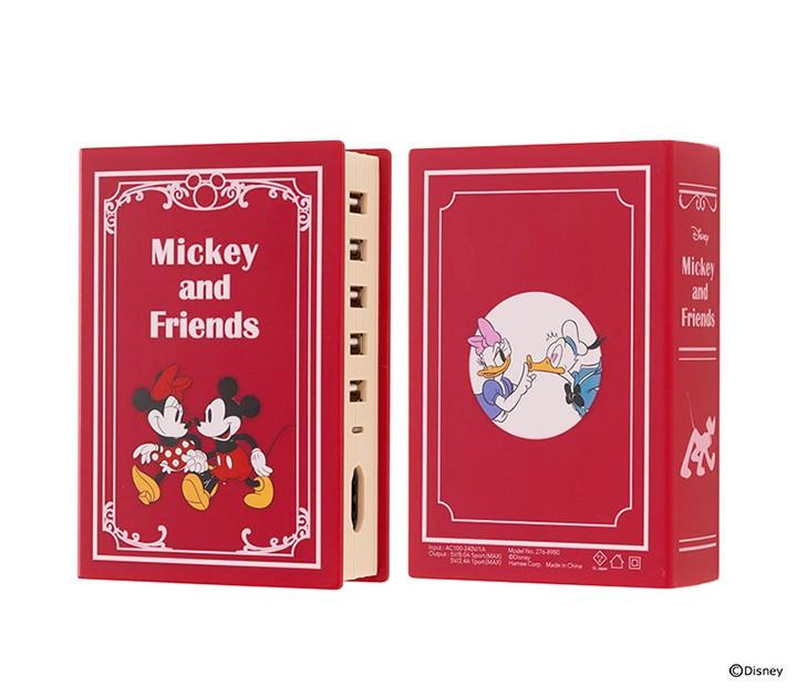 日本, DISNEY, 迪士尼, 充電器, 童話書