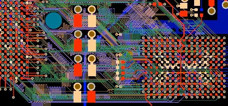 Routing between BGAs with PCB design software