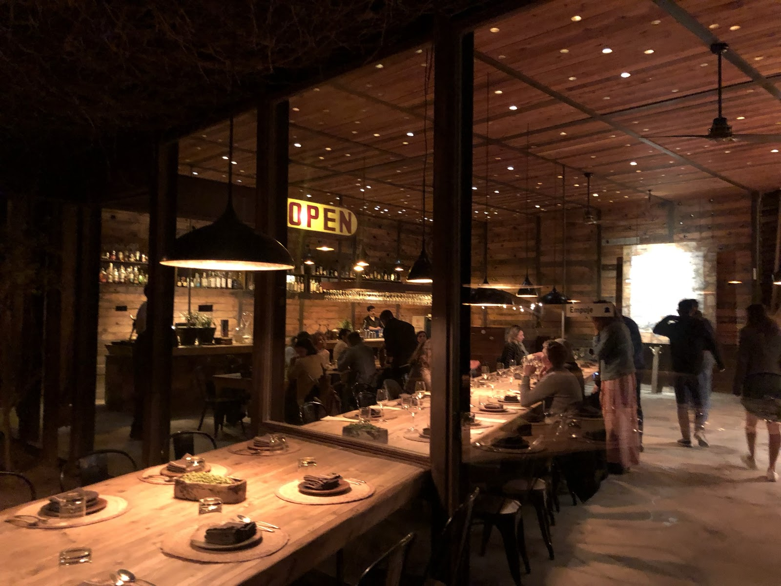 Dinner at Fauna, the 2020 México Gastronómico restaurant of the year.