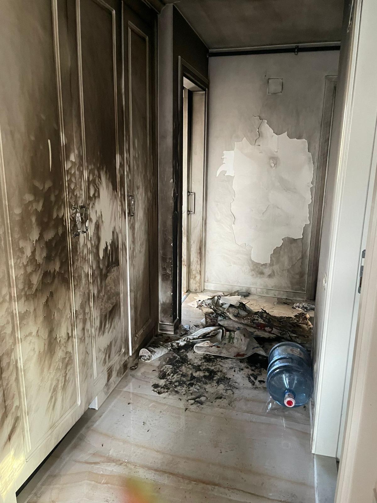 Mersin'de damat dehşeti: Bir bidon benzin döküp kayınvalidesini yaktı