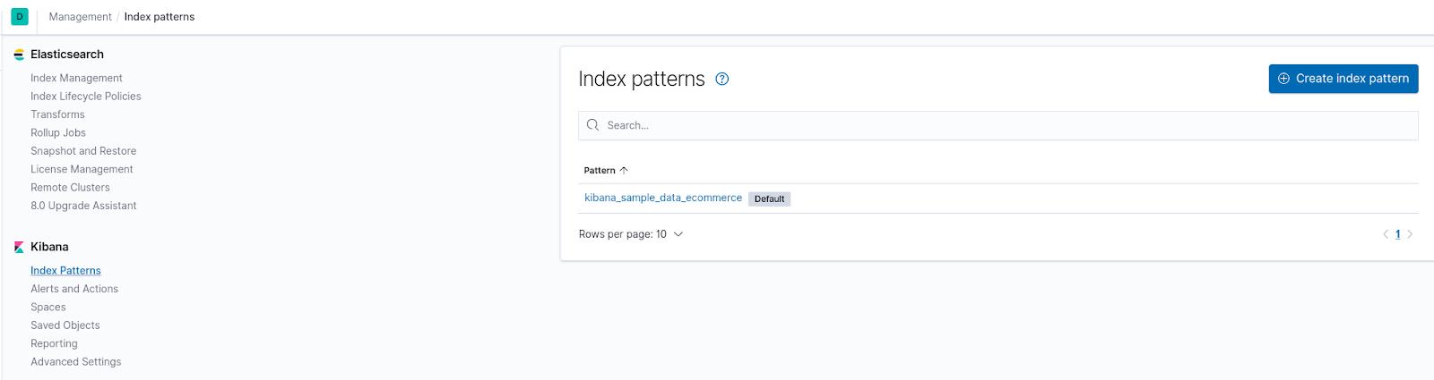 Index Patterns