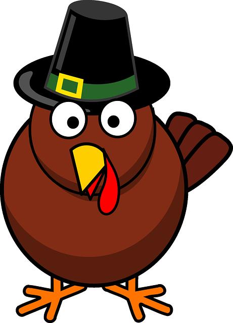 Cartoon, Fall, Thanksgiving