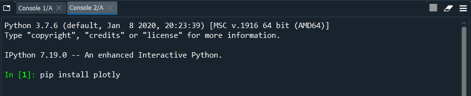 Installing packages in Spyder Python