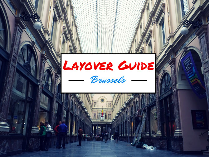 Layover Guide Brussels