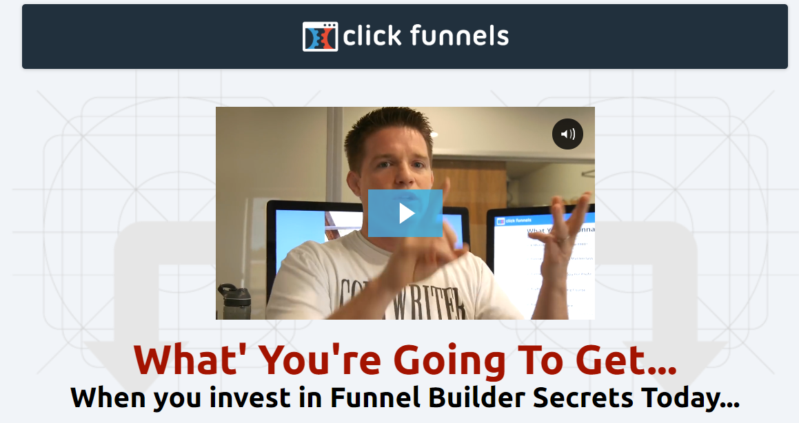 a screenshot of the funnel builder secrets website as reference for this Funnel Builder Secrets Review.