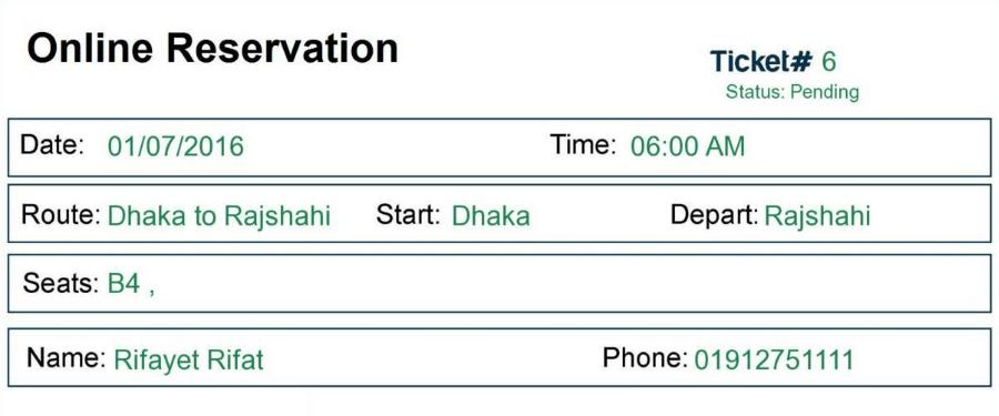 ticket reservation software