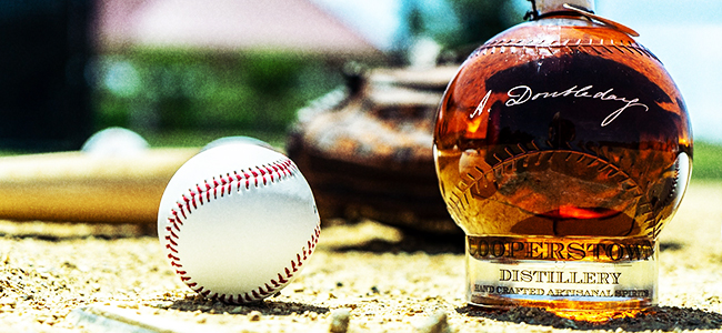 Doubleday Baseball Bourbon by Cooperstown Distillery