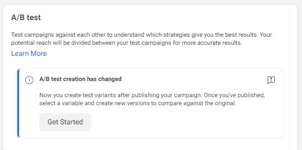 a/b testing facebook ads in Kenya