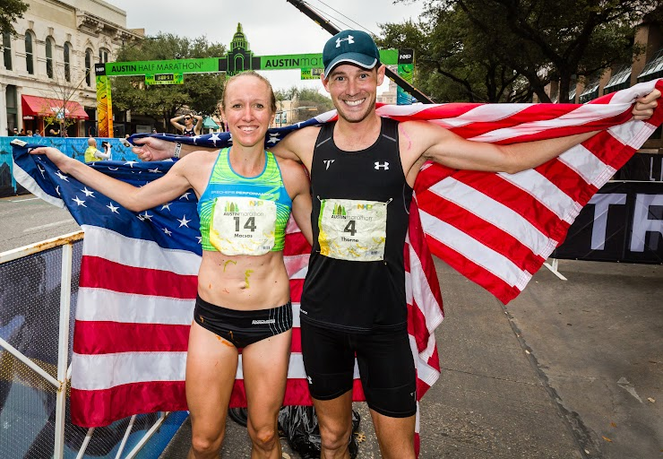 Allison Macsas (2:48:16) and Joe Thorne (2:32:05).