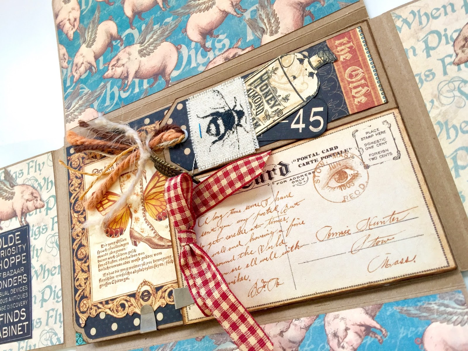 Olde Curiosity Shoppe Flip Flap Mini Album by Marina Blaukitchen Product by Graphic 45 photo 8.jpg