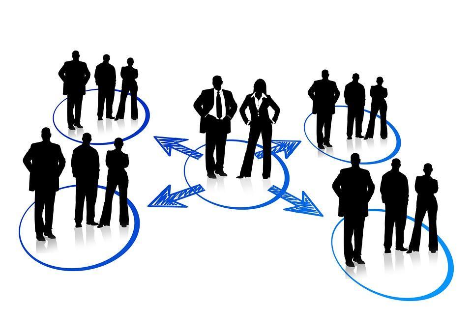 Network, Businessmen, Circuit, Networking, Human