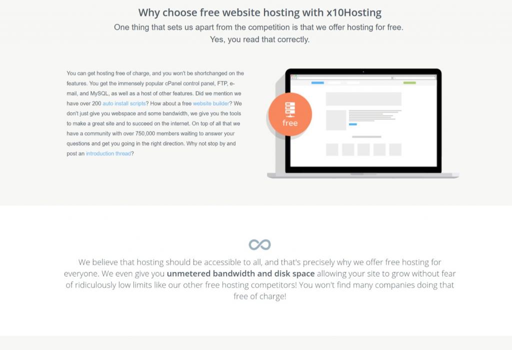 x10hostingfree hosting