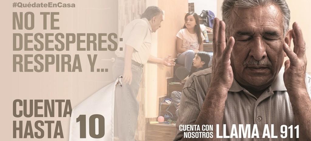 Desata polémica 'Cuenta hasta 10', campaña contra la violencia