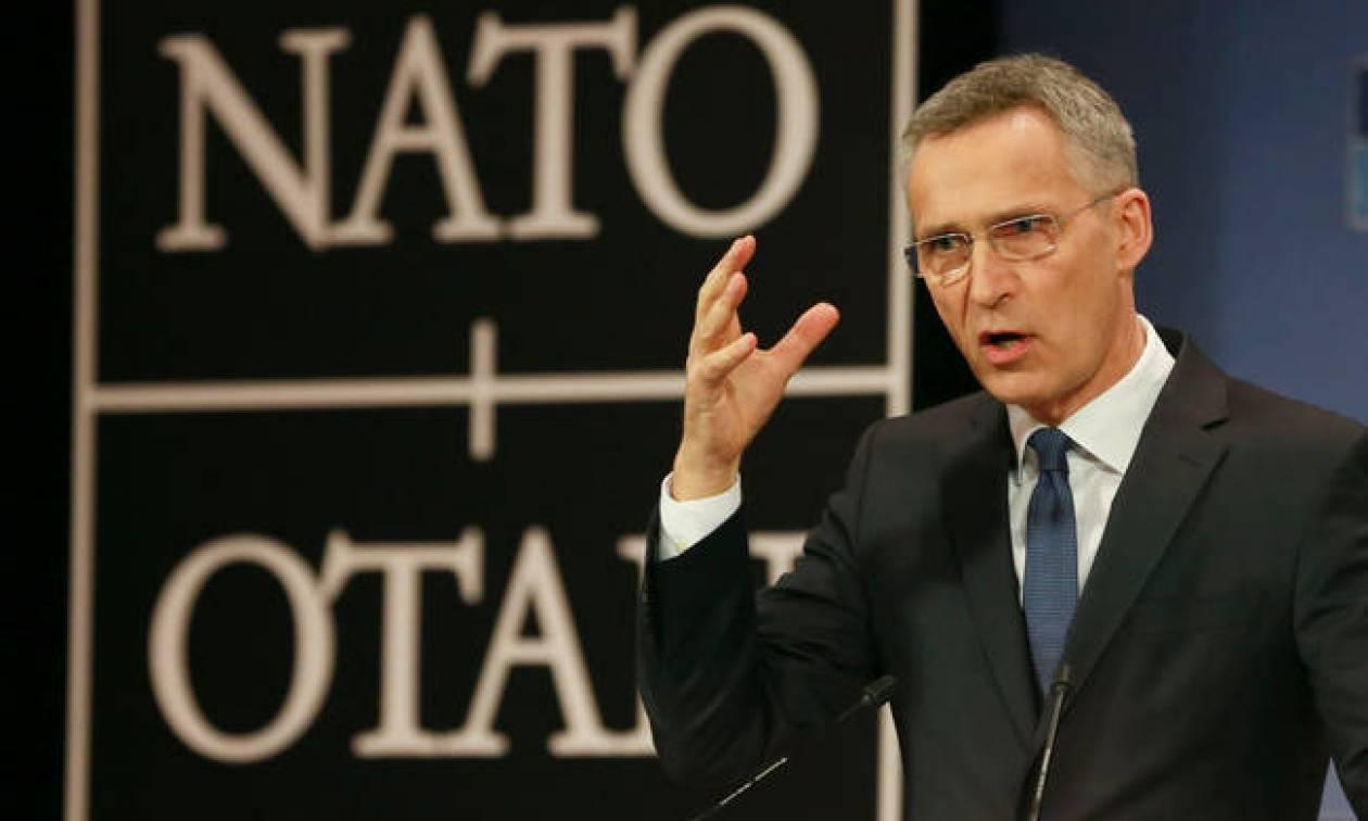 Αποτέλεσμα εικόνας για Γραμματέα του ΝΑΤΟ Γενς Στόλτενμπεργκ