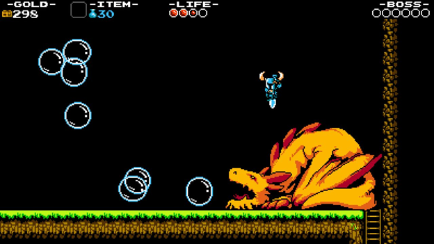 SHOVEL KNIGHT top retro video game