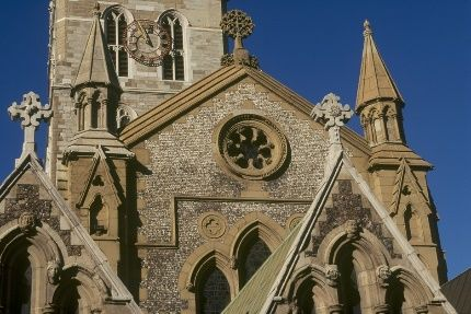 Southwark Cathedral - our destination for the day