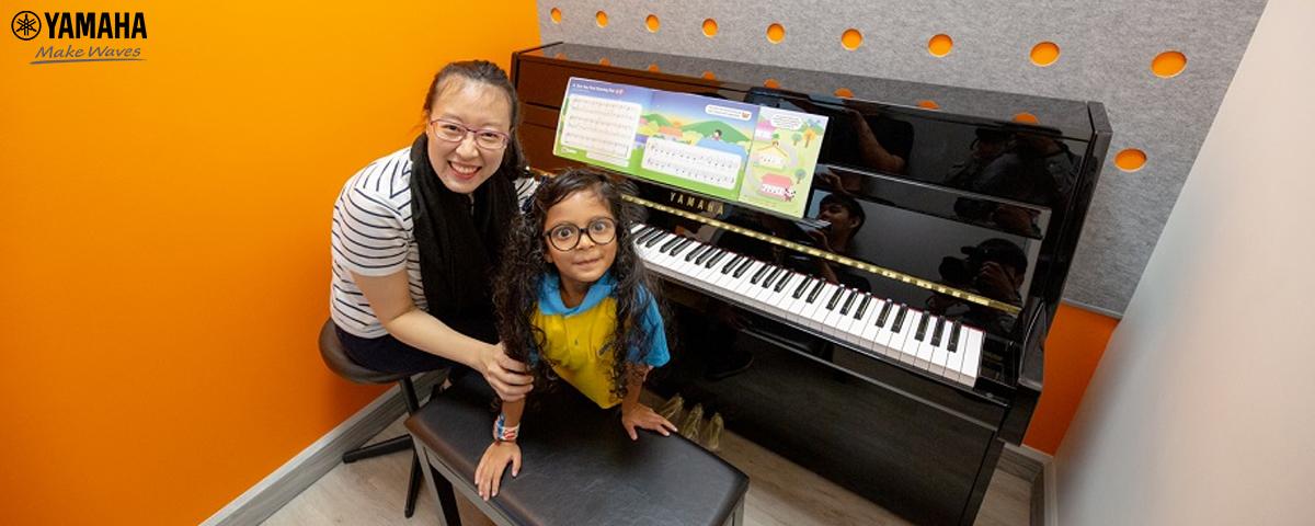 tìm lớp học đàn piano cho bé tại tphcm