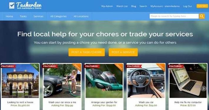 13 Best Freelance Marketplace WordPress Themes - SpyreStudios