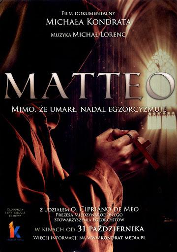 Przód ulotki filmu 'Matteo'