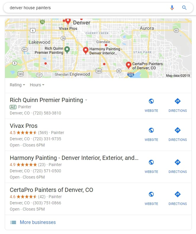 Use Google to keep an eye on the competition