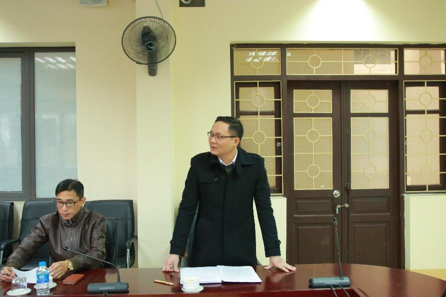 TS. Đỗ Đình Cường phát biểu khai mạc chương trình
