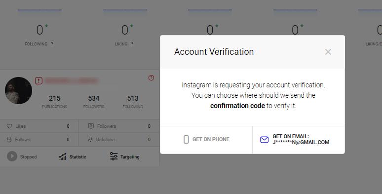 Ingramer settings for Instagram promotion 3