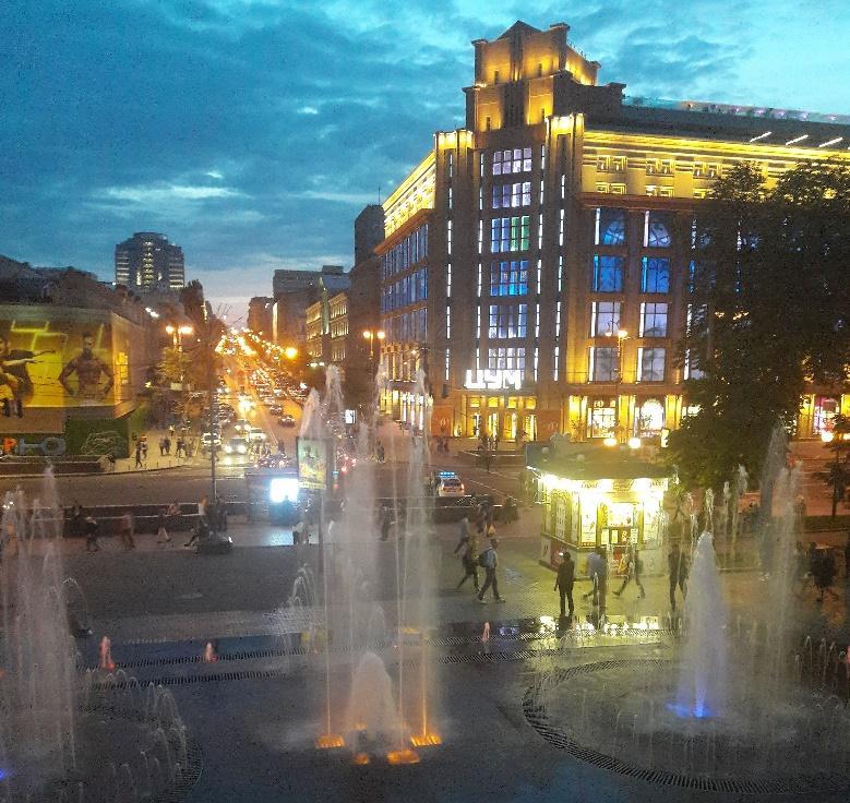 Karolíniny zážitky z výletu na stáži na Ukrajině