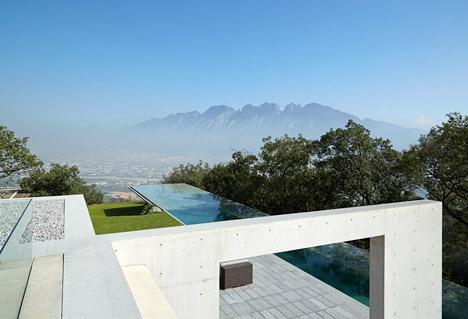 Casa Monterrey house in Mexico by Tadao Ando