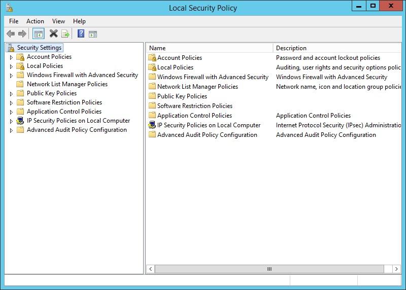 Local Policy: quản lý chính sách nội bộ trên windows server