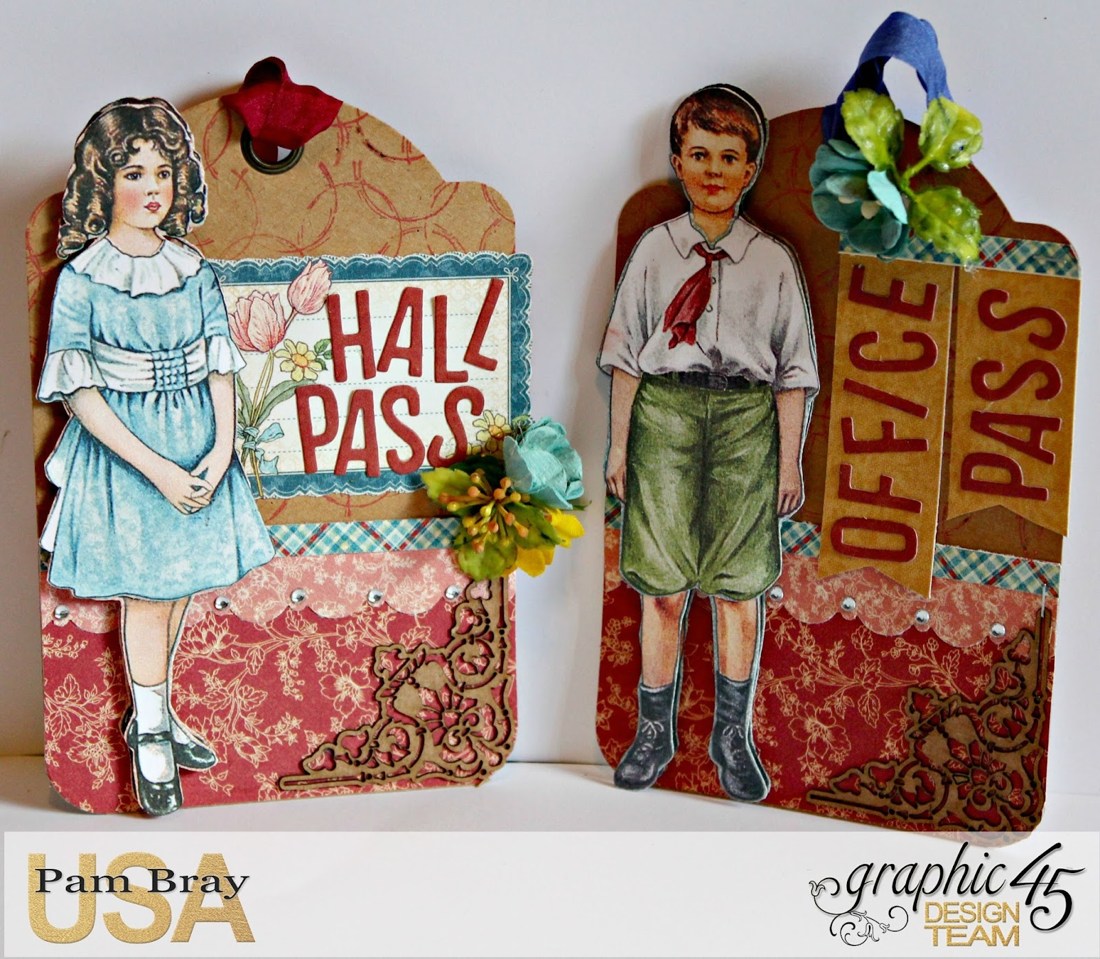 2017 G45 Brand Ambassadors- 2017 Pam Bray  - June 2017 - Penny's Paper Dolls Desk Organizer  with Tutorial Photo 8_7253.jpg
