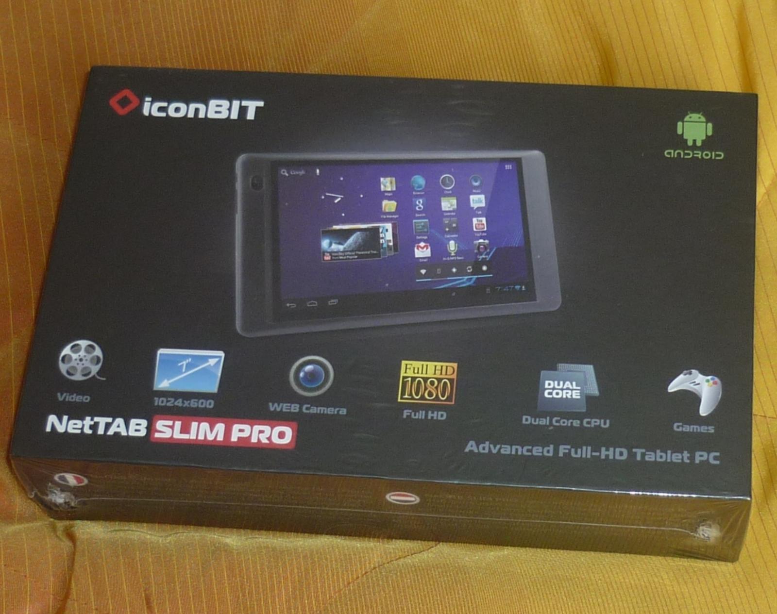 Iconbit nettab slim pro обзор планшета видео 16 августа 2012