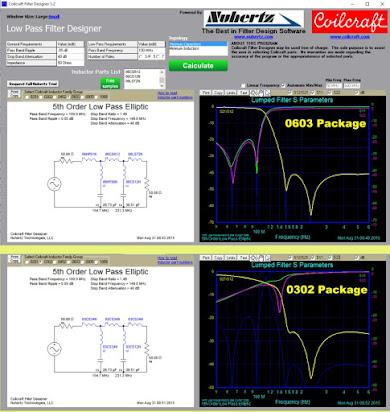 Rf Filter Design Software From Nuhertz