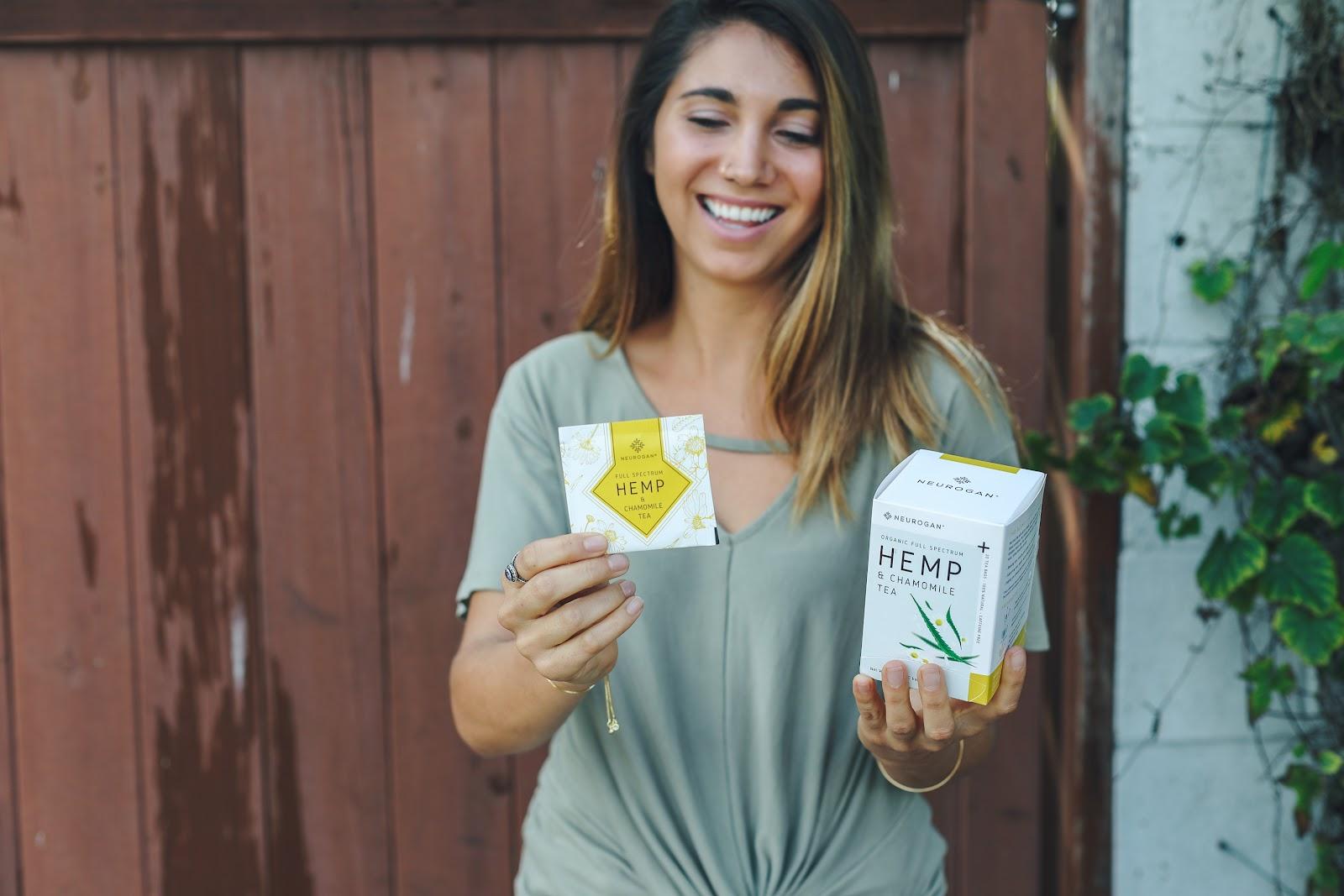 neurogan hemp and chamomile tea cbd