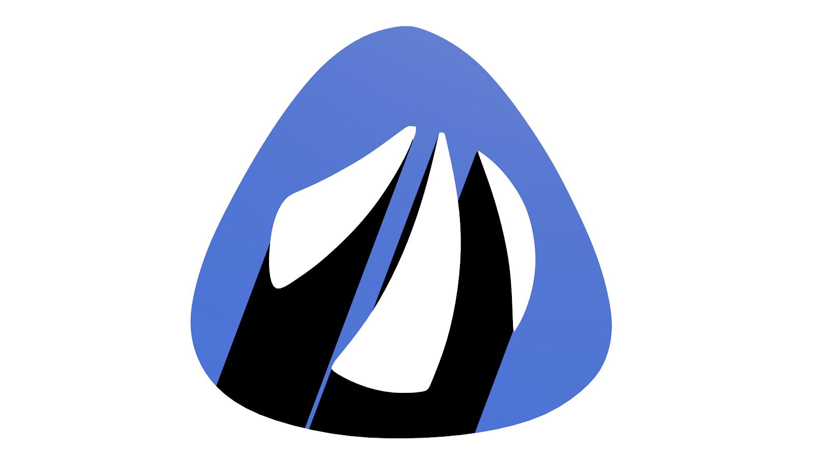 3D Antergos Logo - SidedVirus Art & Animation