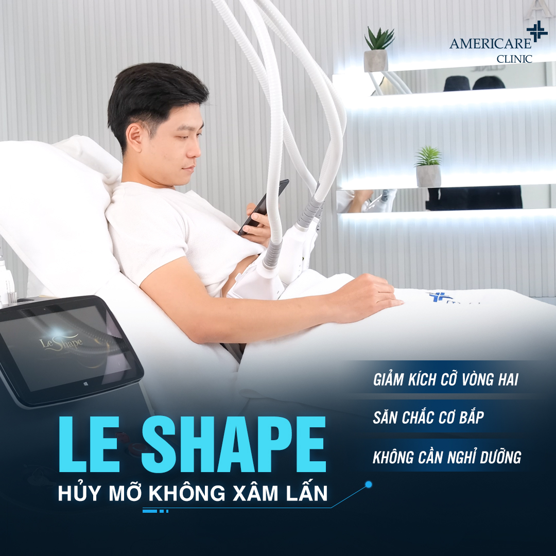 Giảm béo bụng dưới bằng công nghệ hủy mỡ Le Shape