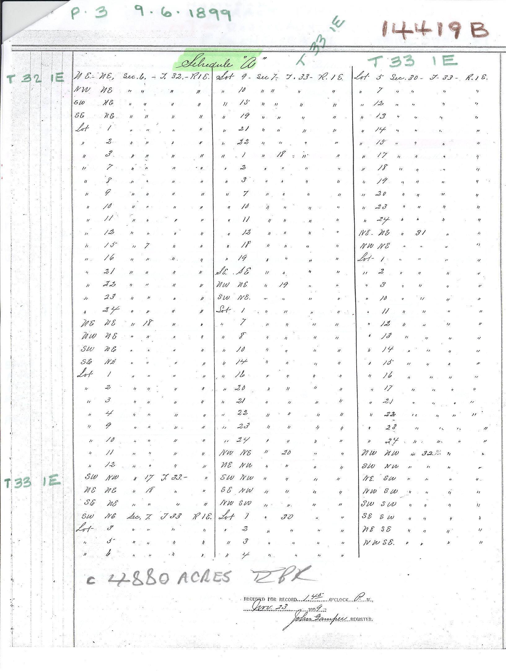 C:\Users\Robert P. Rusch\Desktop\II. RLHSoc\Documents & Photos-Scanned\Rib Lake History 14400-14499\14419B-legal descriptions of land affected.jpg