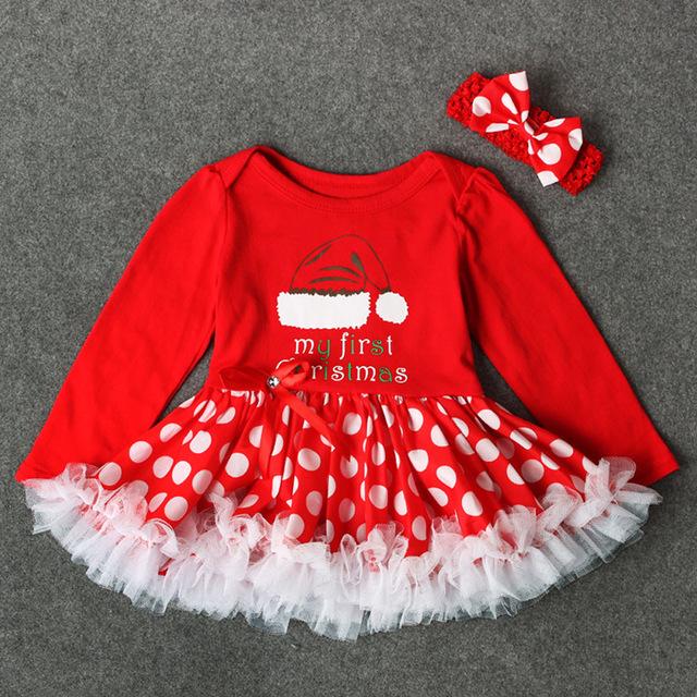 Sukienki dla dziewczynek na choinkę