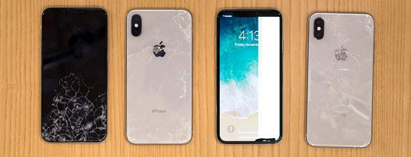 iPhone X хрупкий