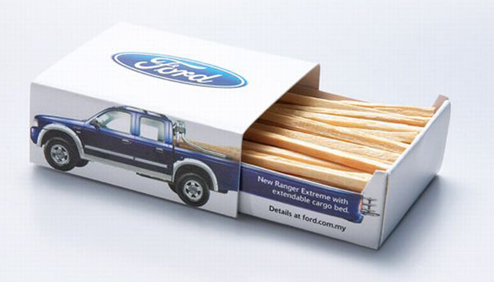 The matchbox depicts a unique extendable cargo bed feature of 30% more loading area. This was Ford's new Limited Edition Ranger Extreme.   - Bizongo Hive How to Craft a Product Launch Plan for Smashing Success