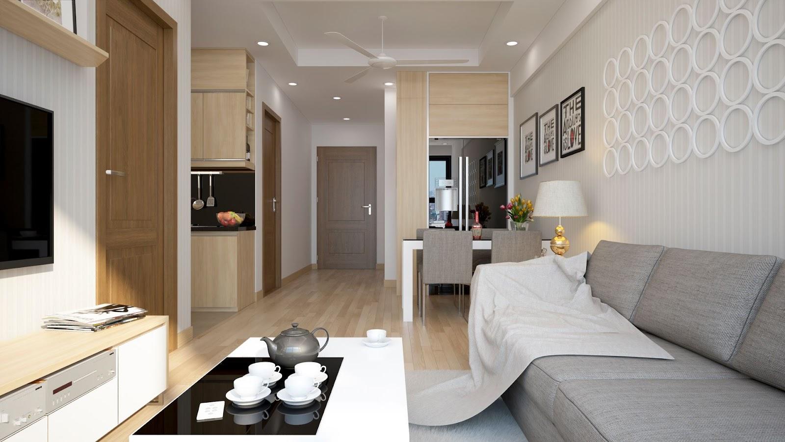 Nhu cầu thuê căn hộ chung cư trở nên phổ biến.