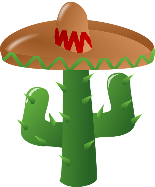 Free vector graphic: Cactus, Sombrero, Mexican, Green - Free Image ...