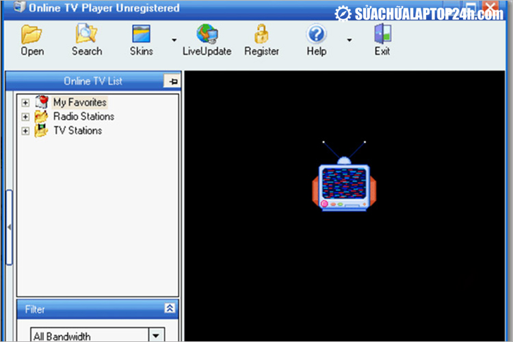 Phần mềm Online TV Player
