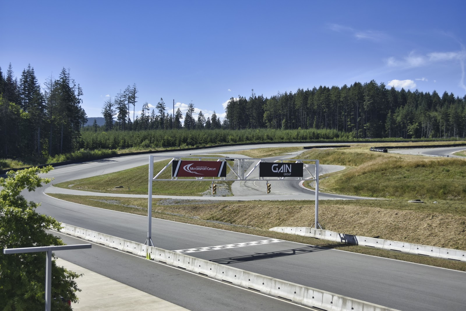 Track at Vancouver Island Motorsports Circuit